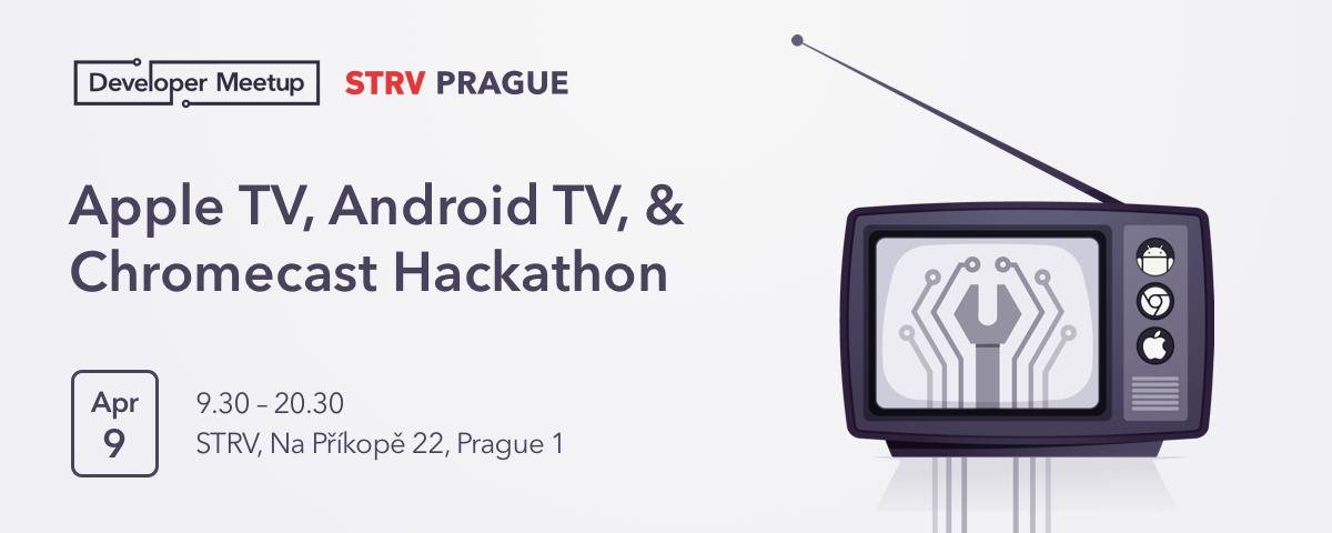 Video: STRV Apple TV, Android TV & Chromecast Hackathon Brno