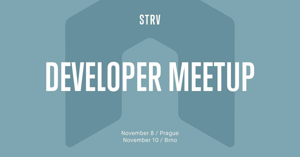 Backend Developer Meetup banner