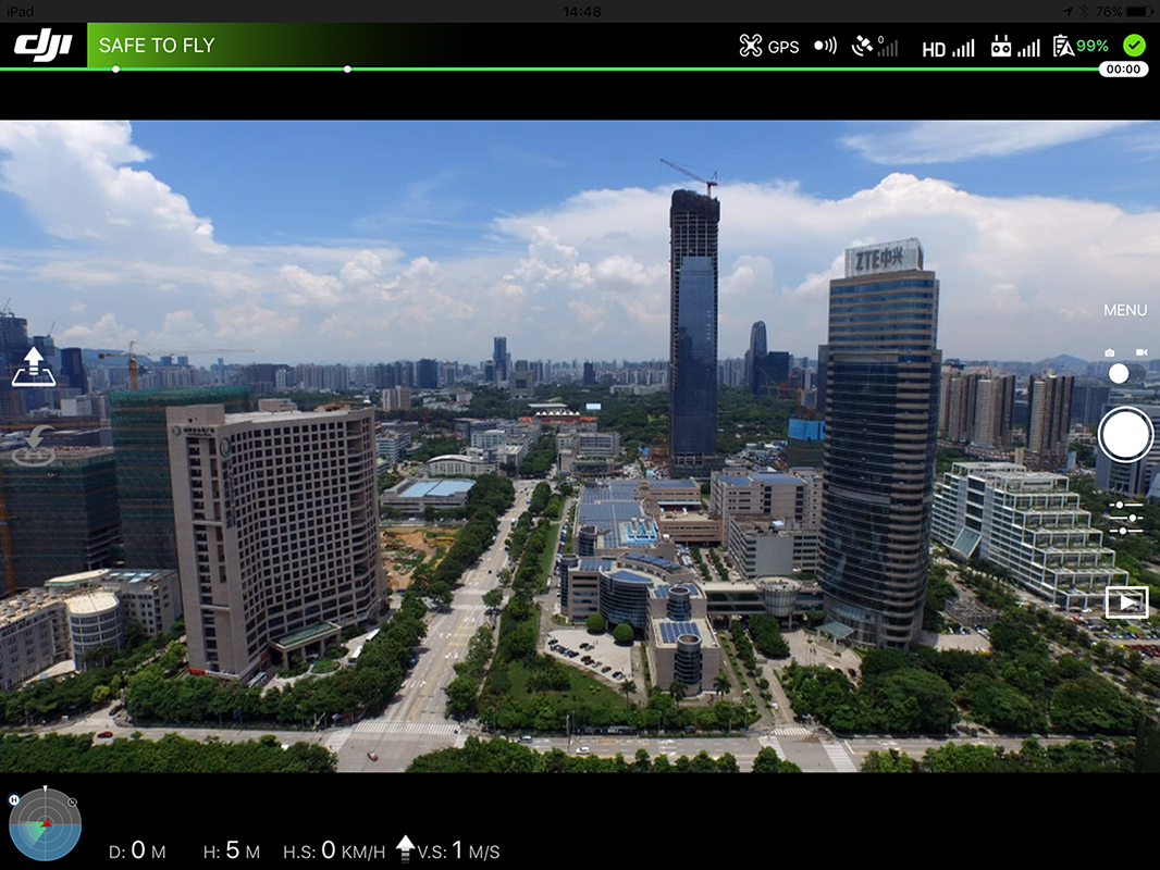 Developing with DJI's Mobile SDK