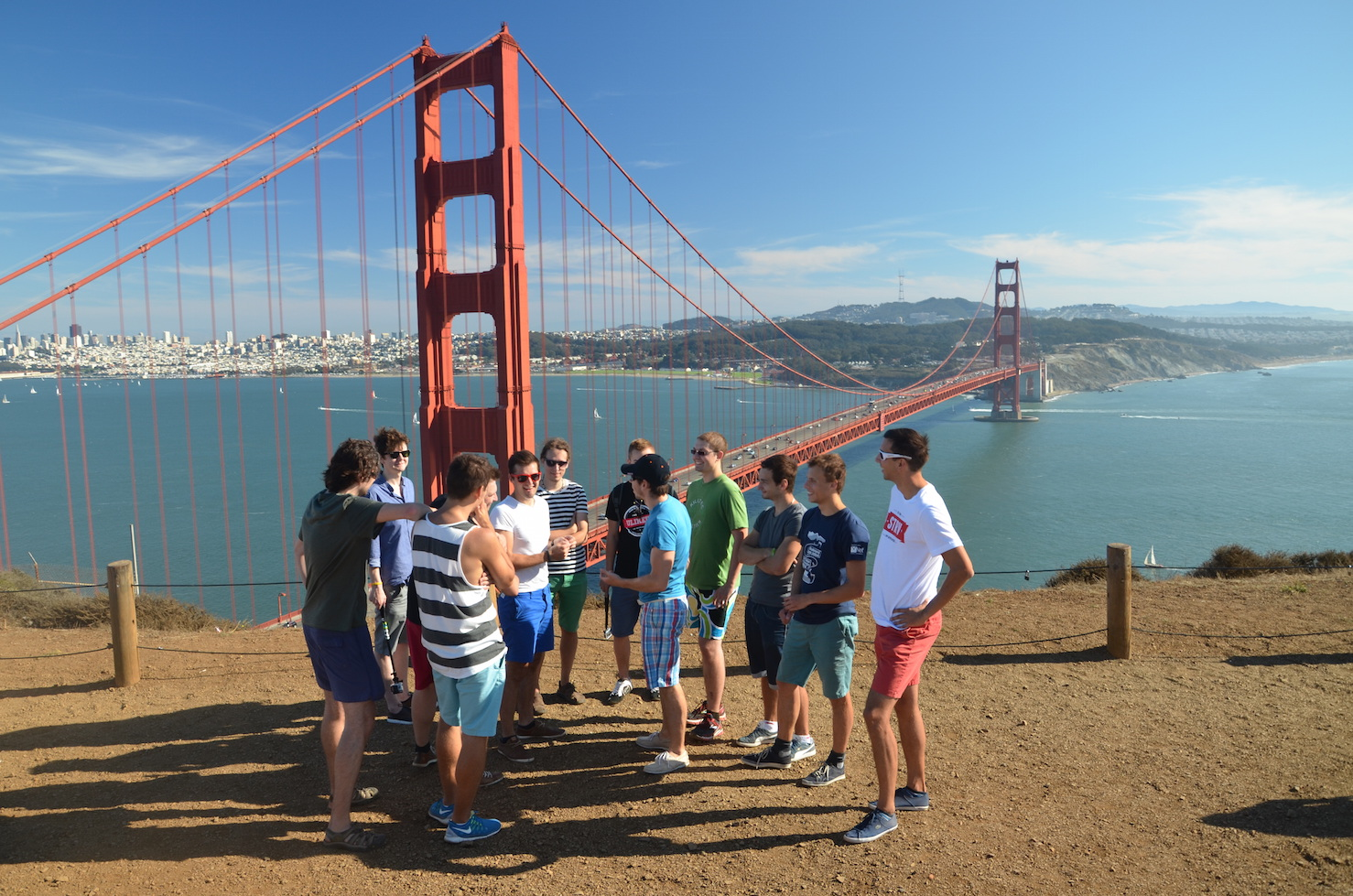 STRV Crew at Golden Gate