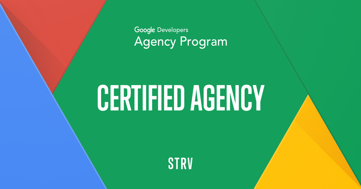 banner for Google Certified Agency for Android