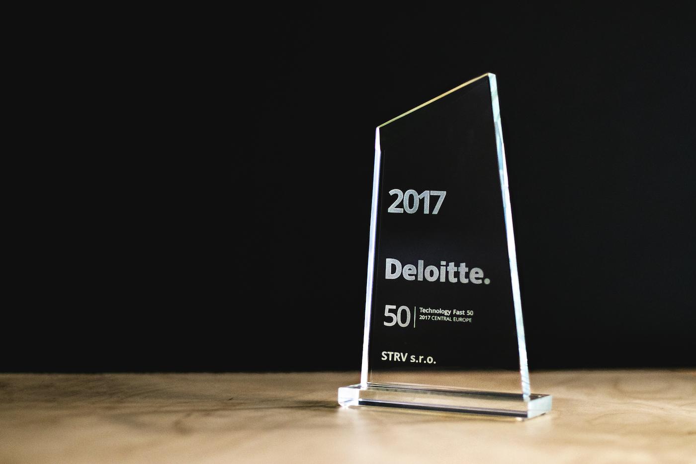 Deloitte Technology Fast 50 award for STRV 2017