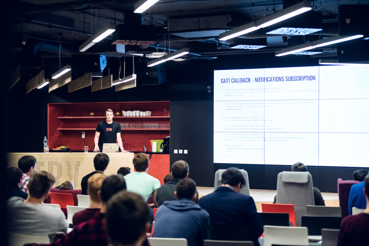 Wrap-up: Android Meetup with Alfonz and BLE for IoT