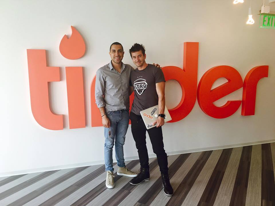 Sean Rad, former Tinder CEO and David Semerad, STRV